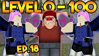 Level 0 To 100 In Arsenal! Annoying Server - Ep.18 Roblox