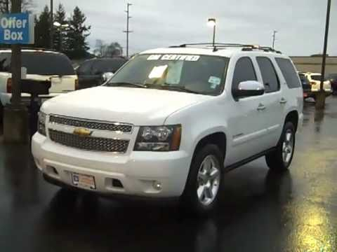 Chevy Suburban Lease >> SOLD-2008 Chevrolet Tahoe LTZ 4WD White Art Gamblin Motors ...