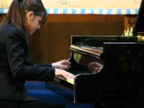 Viviana Lasaracina - Open Piano Competition 2012