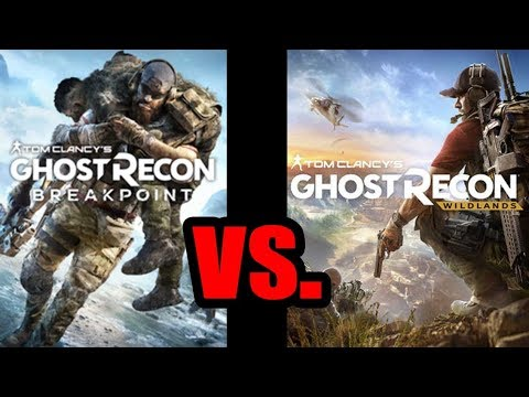 Breakpoint VS. Wildlands, Which Is The Best Ghost Recon? Graphics, Story, Gunplay, Levelling (PS4)