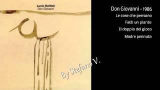 Lucio Battisti - Don Giovanni - 1986 - Full album