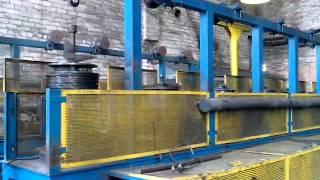 Производство проволоки - волочильный станок 2(, 2014-08-04T13:17:39.000Z)