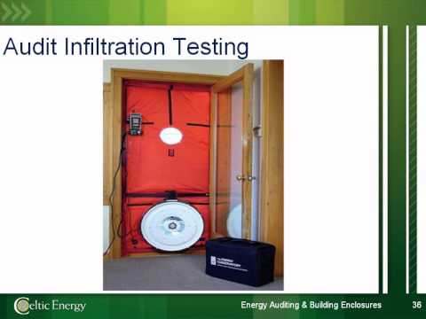 Energy Auditing in Relation to Building Enclosures
