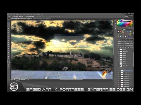Kalemegdan Fortress/Kalemegdanska tvrdjava/SpeedArt/ProjectCode ᴴᴰ