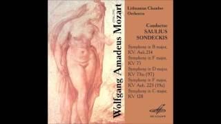 W A MOZART Symphonies Saulius Sondeckis CD2