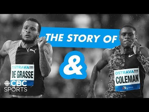 The Story of Andre De Grasse and Christian Coleman | CBC Sports ...