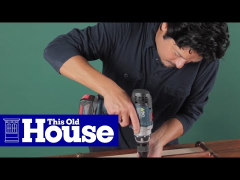 How to Build a Log Holder - This Old House - YouTube