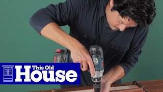 How To Build A Log Holder - This Old House