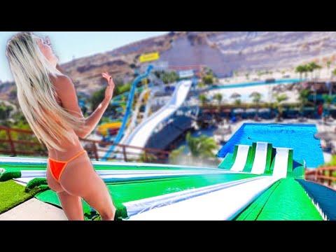 Download Girl Friend VS Mega Slip N Fly! 100ft+