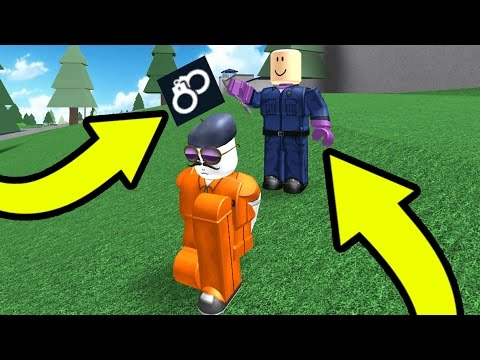 MY SON ARRESTED ME IN PRISON LIFE!! | Roblox