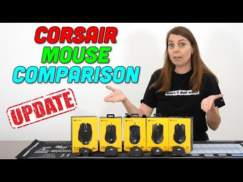 Corsair Mouse Comparison — So Many Mice! — Which Do We Like? thumbnail