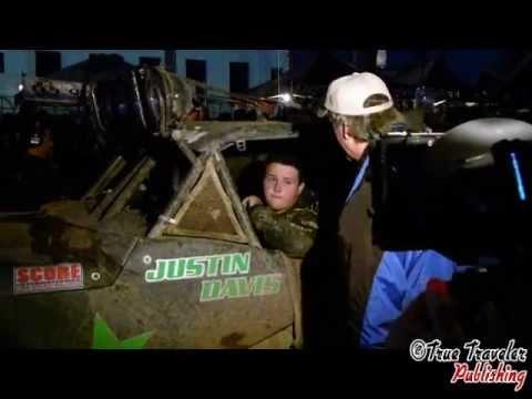 2011 Baja 500 - Justin Davis Finish and Interviews