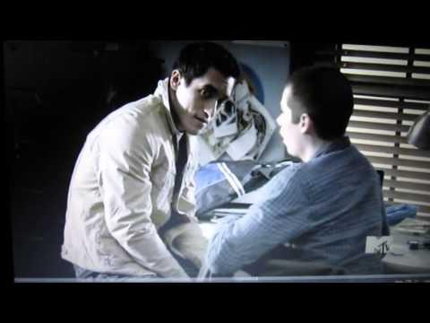 Teen Wolf 1x09 funny moment - Stiles, Danny & Derek