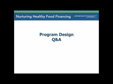 Financing Healthy Food Retail  Program Design and Social Impact Measurement Mobile clip19