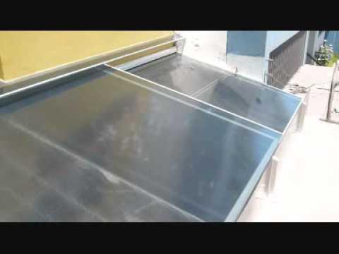 Techos de policarbonato y aluminio youtube - Techo transparente policarbonato ...