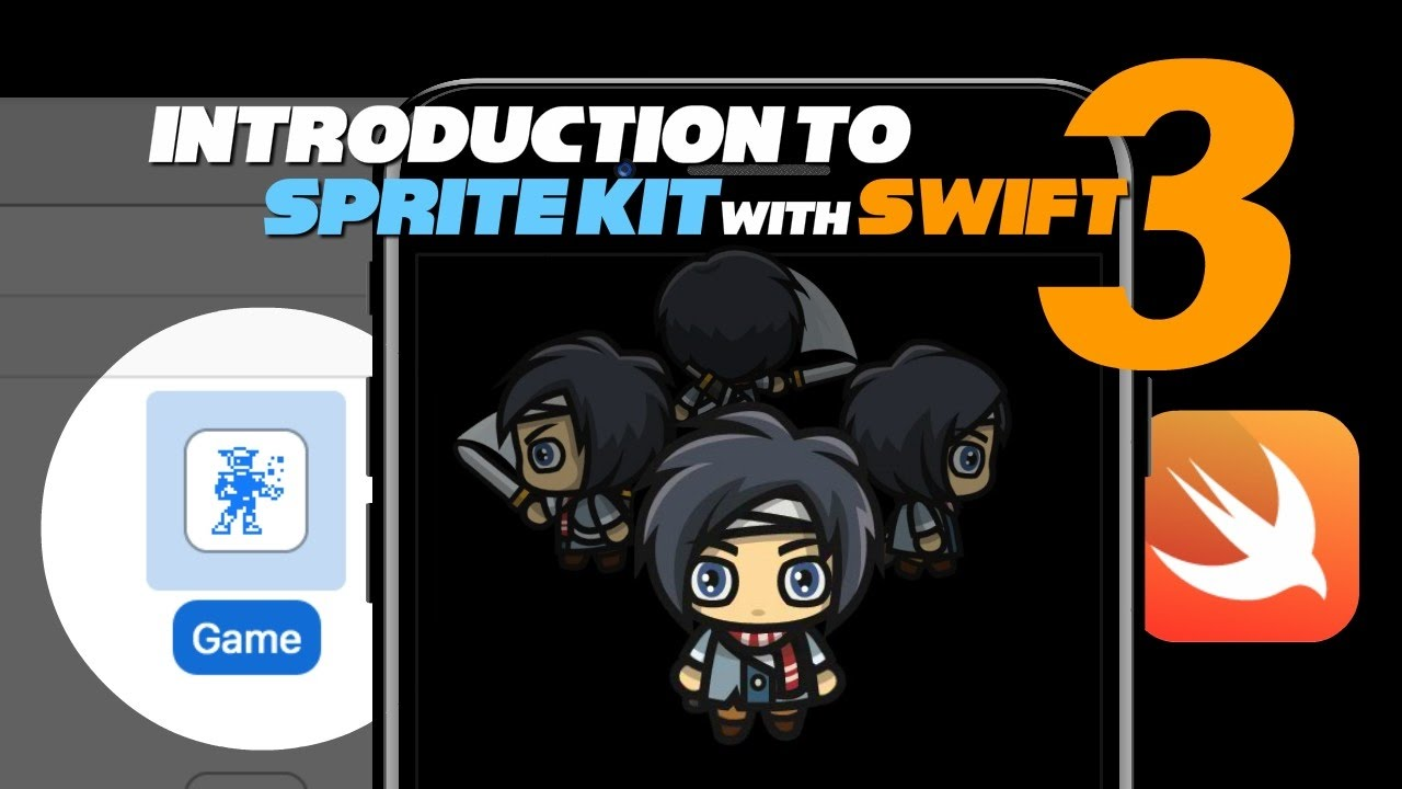 Introduction to Sprite Kit with Swift 3 - Part 1 - The Starting Template