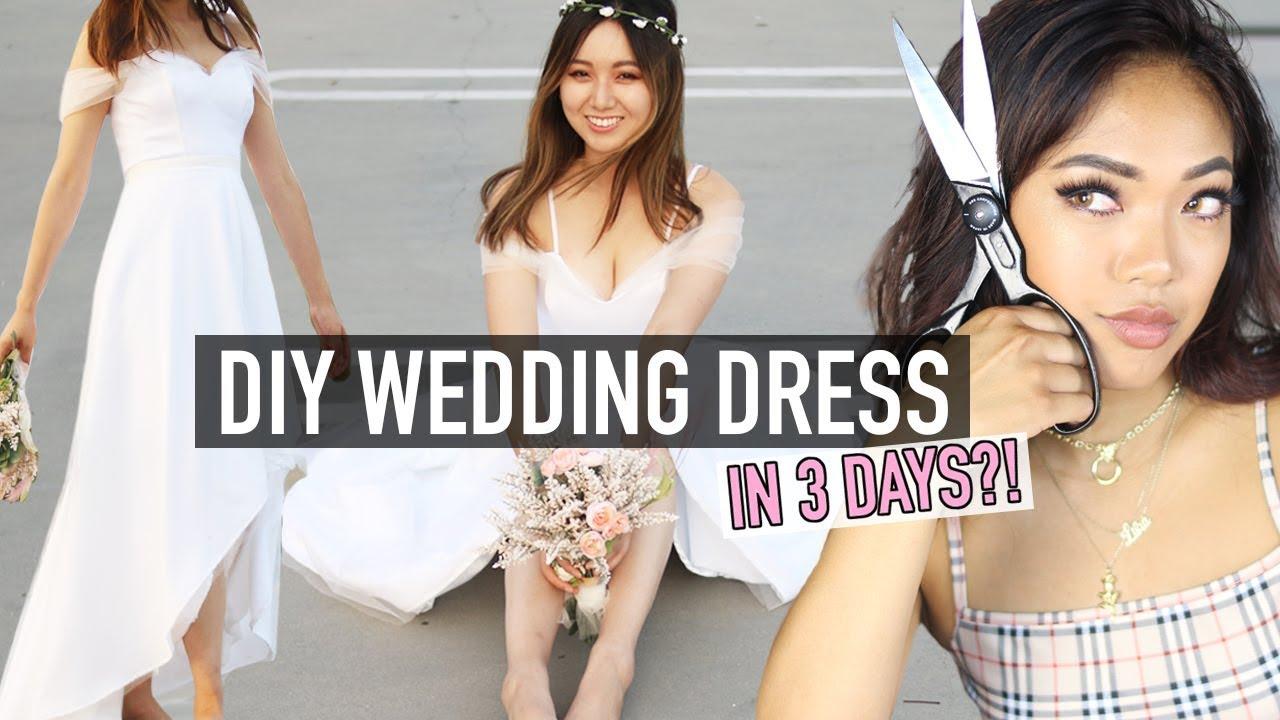How I Made A Wedding Dress In 3 DAYS! | DIY | Nava Rose
