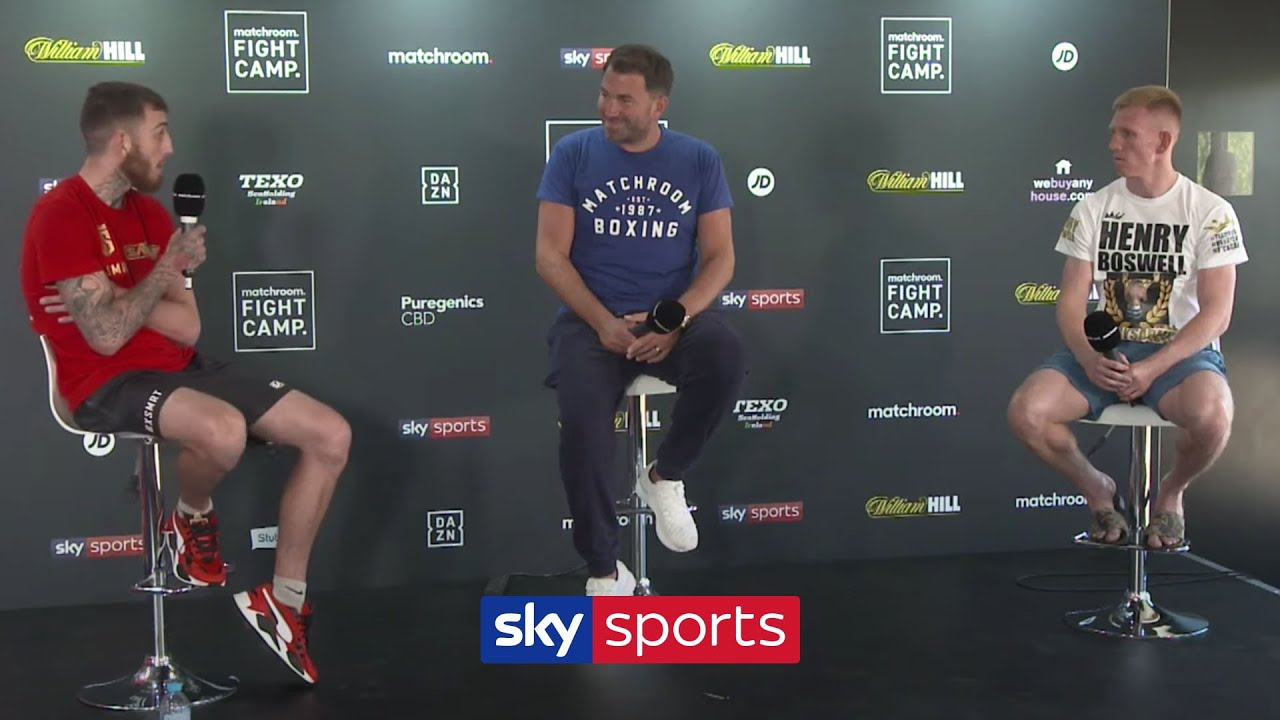 SAM EGGINGTON VS TED CHEESEMAN | Live Press Conference