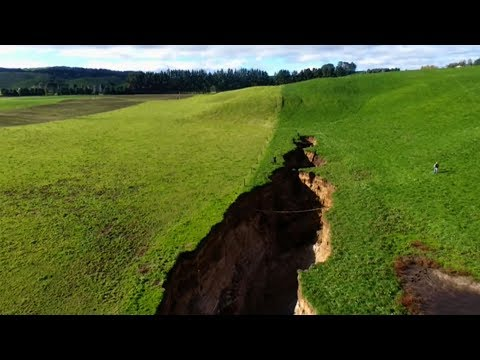 New Zealand sinkhole reveals glimpse into 60,000 years old volcano