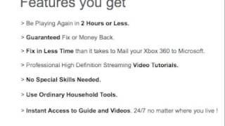 Réparer votre Xbox 360 ''COD'' (3 Lumières rouge) en 2 heures ! Fonctionne à 100% ! Guide Vidéo