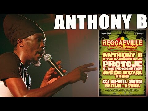 Anthony B - Real Warriors in Berlin @ Reggaeville Easter Special 2015
