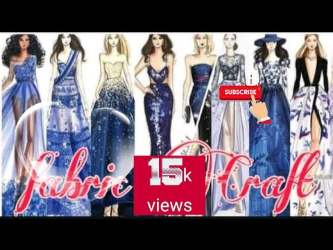 New Latest Italian Moda Marfy Sketch Designs For Fashion Designing Youtube
