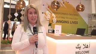 Aeedc Dubai Exhibitor Testimonial | Cheryl Hayes | Carestream Dental Ltd.