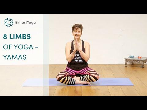#1 - The 5 Yamas  - Eight limbs of Yoga