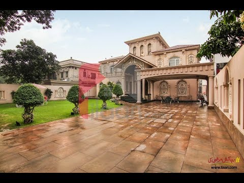3 Kanal luxurious Royal Palace for sale in Model Town, Lahor