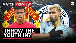 THROW THE YOUTH IN? | United vs City Manchester Derby Preview