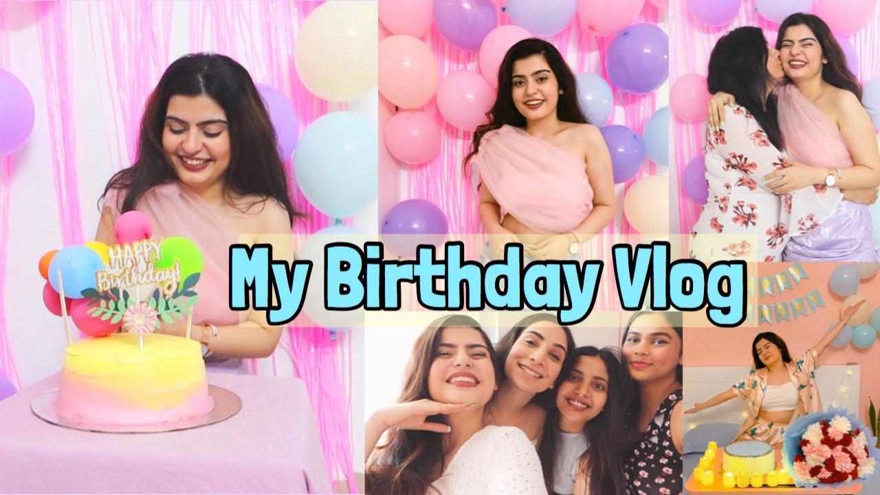 Birthday Vlog| Wholesome, Emotional & Very Special Birthday| Yashita Rai