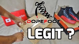 IS DOPEFOOT.COM LEGIT? REAL OR FAKE?
