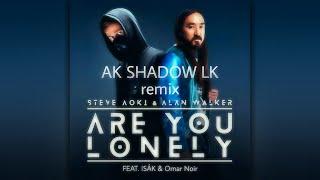 Steve Aoki & Alan Walker - Are You Lonely (feat. ISÁK & Omar Noir) (AK SHADOW LK Remix)AllInOneRemix
