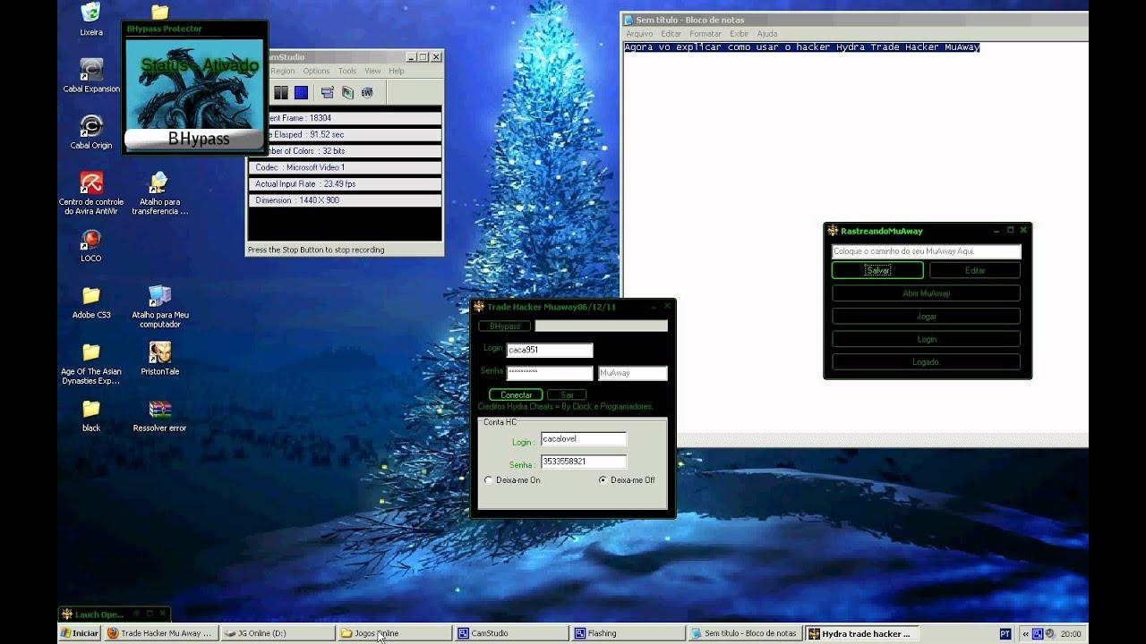 hacker para muaway 2012