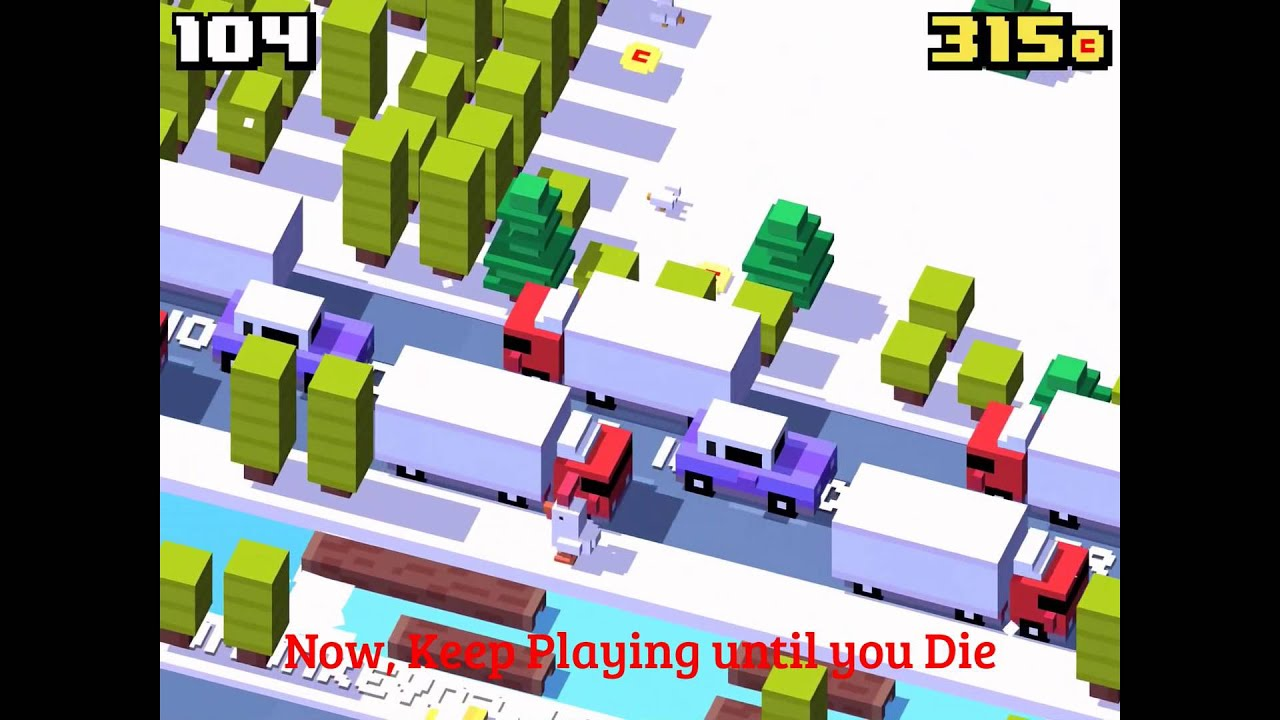 crossy road how to get gifty
