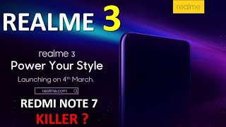 Realme 3 - Price in India | Specs | Camera | Battery | Performance |  Realme 3 Vs Redmi Note 7