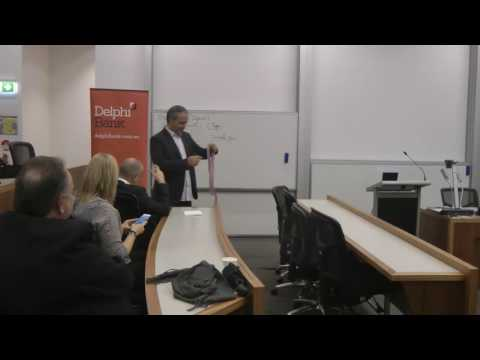 "N. Lygeros: ""The Art of Strategy"". Melbourne Business School, Australia. Part I"