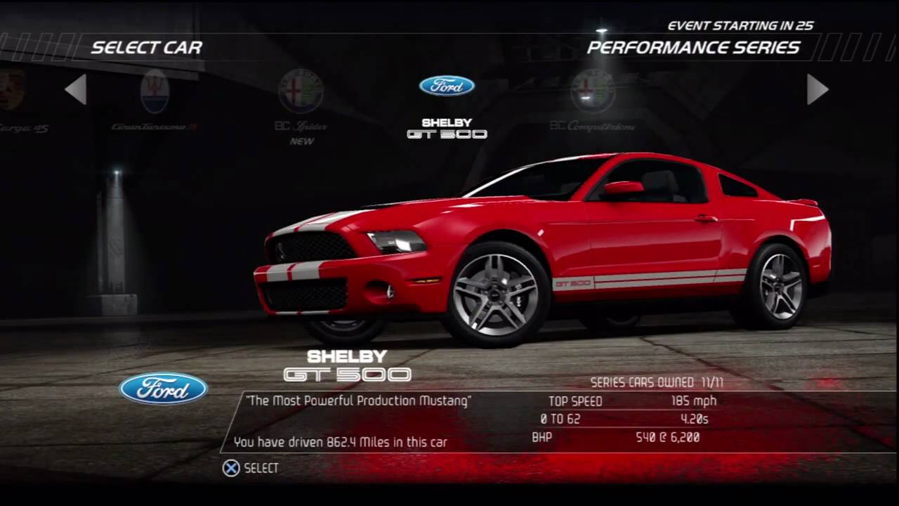 Hd Nfs Cars Wallpapers Nfs Hot Pursuit Online Shelby Gt 500 Youtube