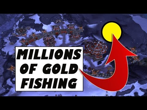 How I Made Gold Cap Fishing in My Garrison | Gold Story + Guide