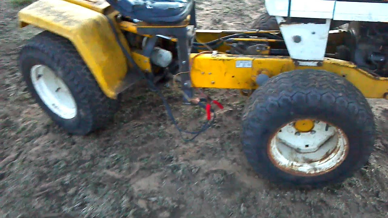 Articulated Cub Cadet Steering Test YouTube