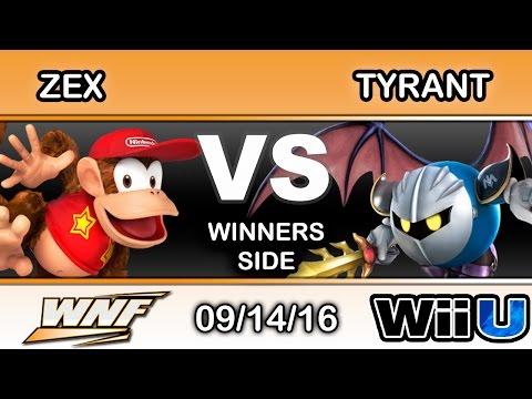 WNF 3.7 - NME   Zex (Diddy Kong) Vs. NME   Tyrant (Meta Knight) Winners Side - Smash Wii U