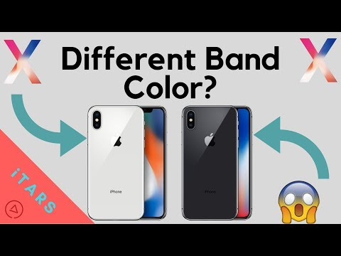 iPhone X Stainless Steel Band Colors // Space Gray + Silver // EXPLANATION