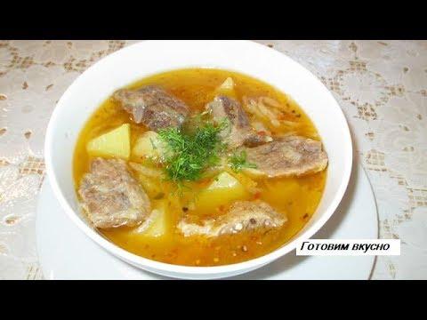 Как варить картофельный суп с мясом