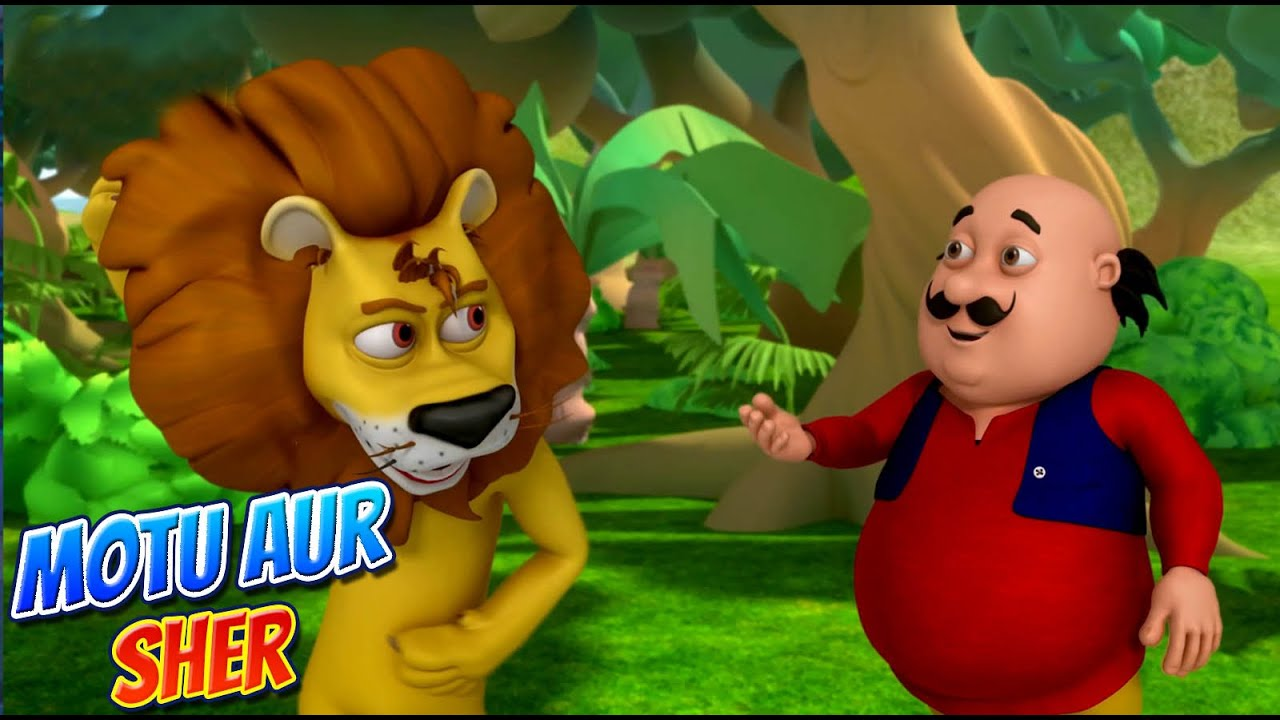 Download Motu Patlu in Hindi    मोटू पतलू    Hindi Cartoon   Motu Aur Sher