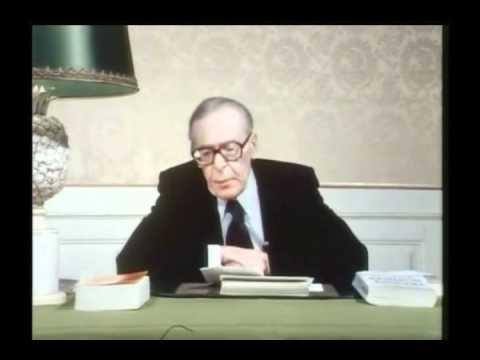 1 de 2  1940 : L'asservissement consenti  Maréchal Pétain  Henri Guillemin (épisode 11 de 13)