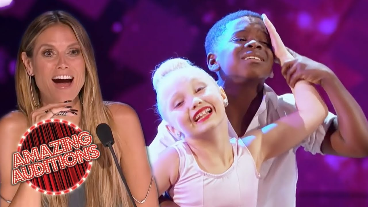 Download MINI DUO Recreate DIRTY DANCING Routine On America's Got Talent | Amazing Auditions