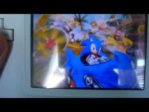 Unboxing (PL) - Sonic & SEGA All-Stars Racing (2010 - NDS)