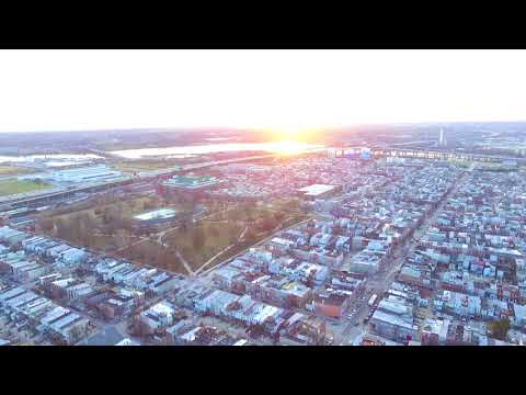 360° View if Federal Hill, River Side, and Locust Point in Baltimore