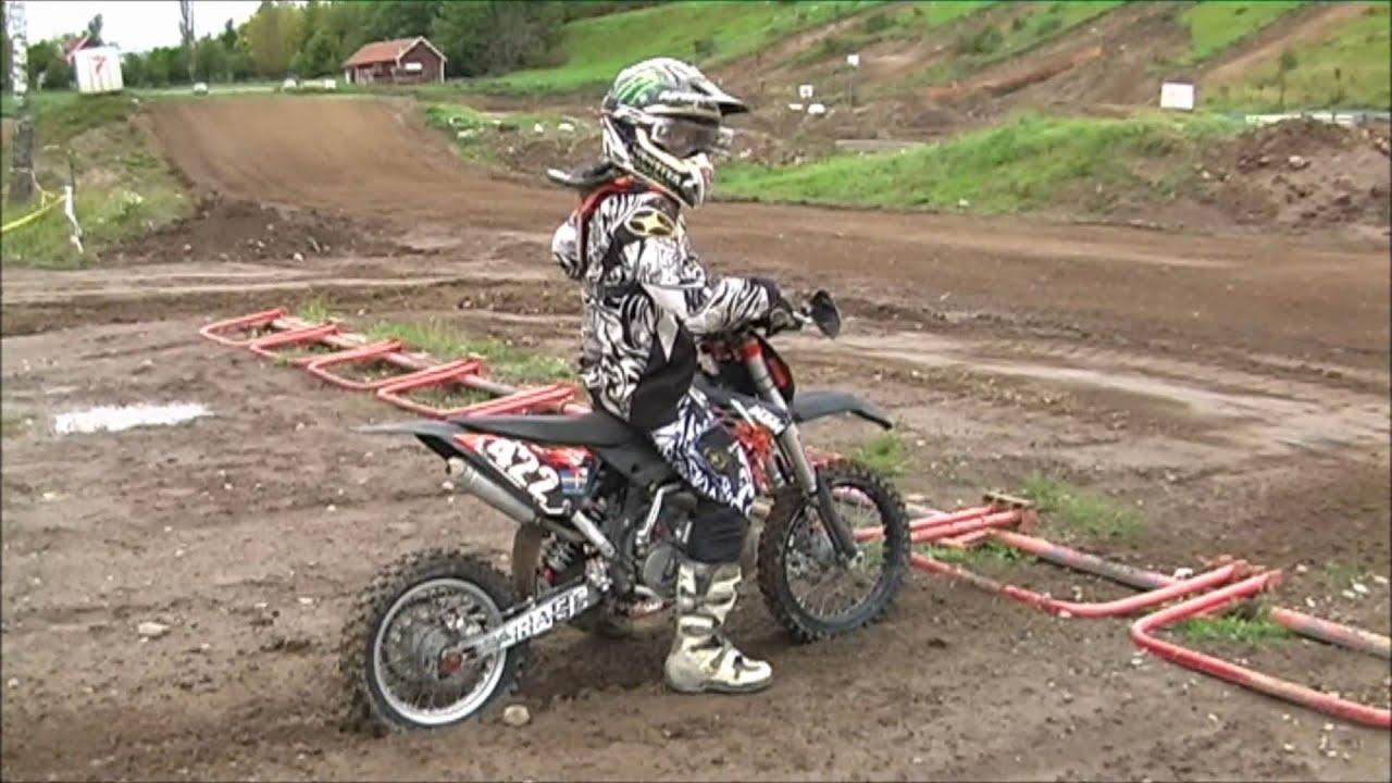 ktm 65 sx 2010 practice - youtube
