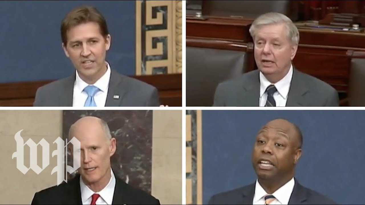 Why these four Republicans oppose the Senate's coronavirus stimulus bill